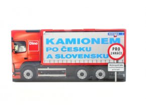 Kamionem po Česku a Slovensku