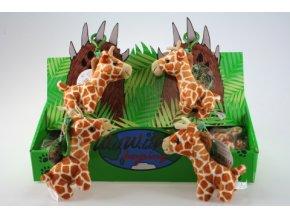 Plyš Žirafa klíčenka