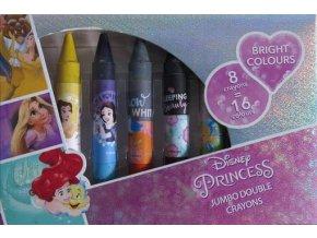 Voskovky oboustranné Disney Princezny