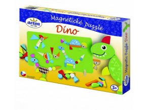 Puzzle magnetické - Dino