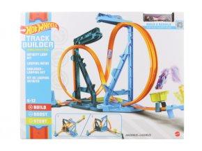 Hot Wheels Track builder nekonečná smyčka herní set GVG10