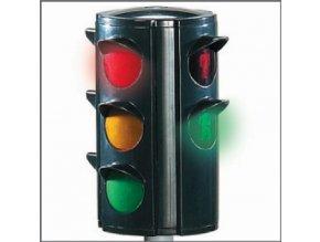 BIG semafor s automatickým přepínáním světel