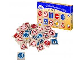 Pexeso Dopravní značky dřevo