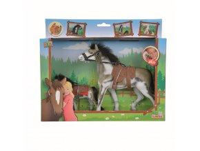 Kůň Beauty Pferde set 11 a 19 cm