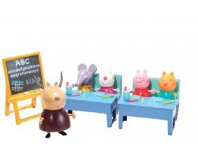 Školní třída + 5 figurek Prasátko Peppa
