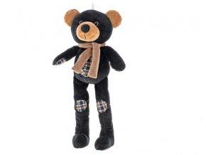 Medvídek plyšový dlouhé nohy 32 cm 0m+ v sáčku