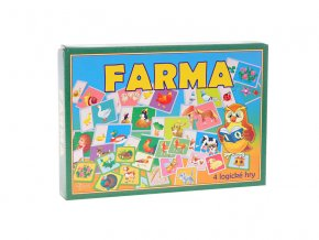 Společenská hra logická Farma v krabičce