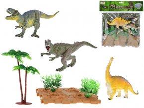 Dinosauři 15-18 cm 2 druhy