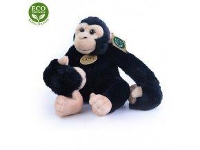 Plyšový šimpanz visící 20 cm ECO-FRIENDLY