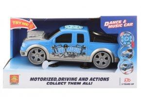 Auto sportovní modré na baterie