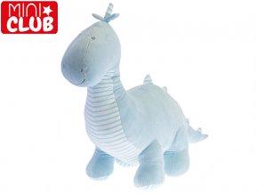Dinosaurus plyšový 50 cm modrý 0m+