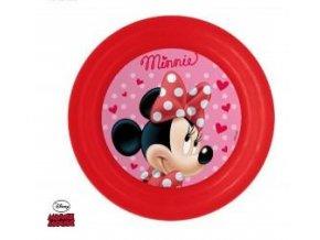 3D plastový talíř Eli MINNIE 0286