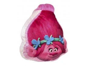 3D polštář TROLLOVÉ Cer 175 růžovo - malinový