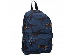 Batoh  SKOOTER Dinosaurus Va 9909 tm. modrý