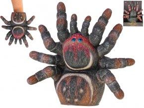 Pavouk/maňásek 23 cm 2 barvy v krabičce