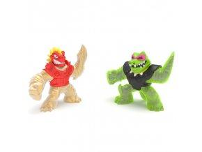 GOO JIT ZU figurky BLAZAGON vs. ROCK JAW dvoubalení série 2
