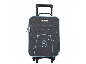 Cestovní trolley kufr KIDZROOM medvěd Va 0020