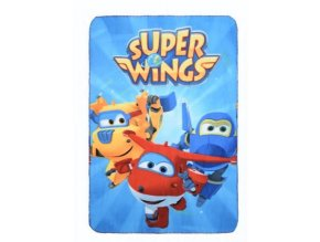 Flísová deka SUPER WINGS 100 x 150 cm ph 4612