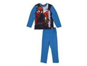 Flísové pyžamo SPIDERMAN ph 2096 modré