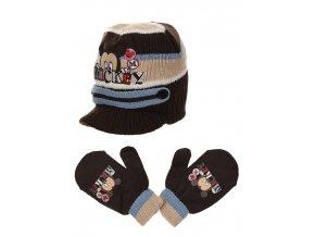 Čepice a rukavice  MICKEY baby