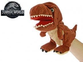 Jurský svět Tyrannosaurus Rex 25 cm plyšový maňásek 0m+
