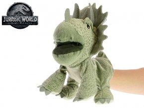 Jurský svět Triceratops 25 cm plyšový maňásek 0m+