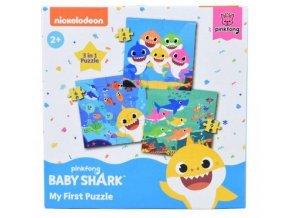 PUZZLE BABY SHARK 3 v 1
