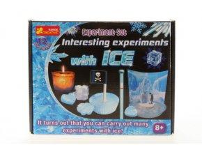Zajímavé experimenty s ledem