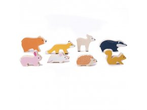 Bigjigs Toys Sada lesních zvířátek