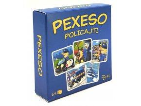 Pexeso Policajti v krabičce