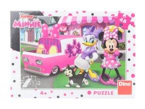 Puzzle Minnie a Daisy 48 dílků