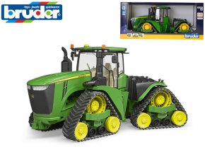 Bruder traktor pásový John Deere 9620RX 45 cm na volný chod v krabičce