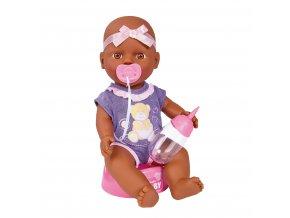 Panenka New Born Baby miminko černoušek 30 cm