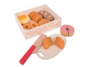 Bigjigs Toys Krájecí pečiva v krabičce