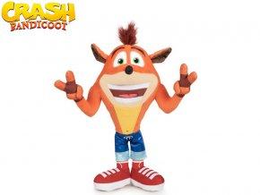Crash Bandicoot plyšový 21cm Crash vítěz