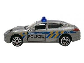 Auto policejní, kovové, česká verze