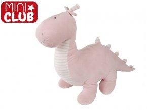 Dinosaurus plyšový 55cm růžový stojící