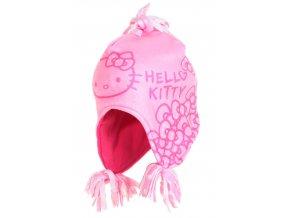 Peru čepice HELLO KITTY nh 4058 růžová