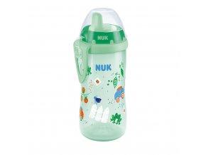 Dětská láhev NUK Kiddy Cup 300 ml kluk