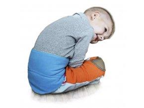 Dětský bederňák 5-11 let VG antracitovo-limetkový