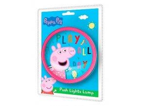Push lampička PEPPA PIG Eur 17012 malinová