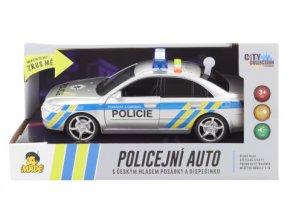 Auto policejní s českým hlasem
