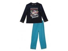 Pyžamo PLANES ho 2138 tm. modro - tyrkysové