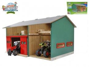 Dílna 41x54x32cm 1:32 dřevěná v krabičce