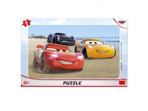 Cars Závody - puzzle