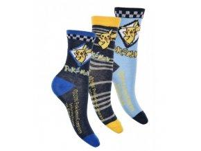 Sada 3 KS ponožek POKÉMON ph 4834