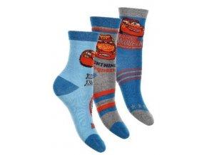 Sada 3 KS ponožky CARS  rer 0648