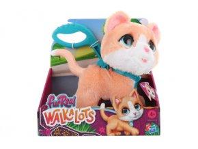 Fur Real Friends Walkalots velká kočka