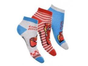 Sada 3 KS ponožky CARS er 0615