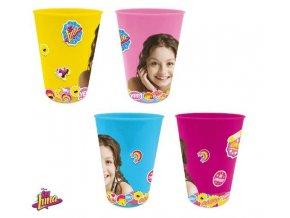 Sada 4 KS plastové skleničky SOY LUNA Eli 2265